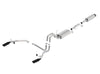 Borla 11-14 Ford F-150 5.0L Stainless Steel S-Type Catback Exhaust - 4in Tips Single Split Rear Exit