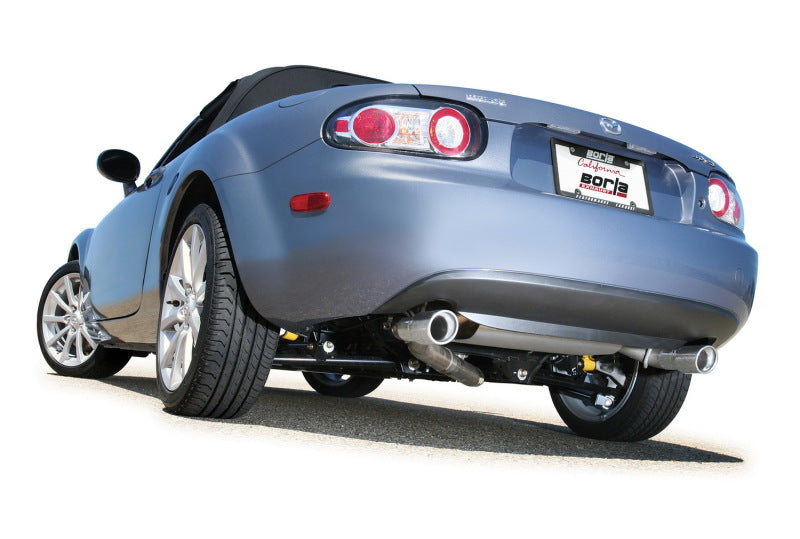 Borla 06-14 Mazda MX-5 Miata 2.0L RWD Twin-Tip Cat Back Exhaust