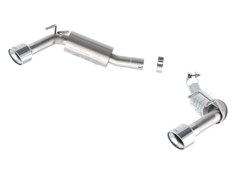 Borla 14-15 Camaro SS 6.2L V8 RWD Single Split Rr Exit ATAK Exhaust (rear section only)