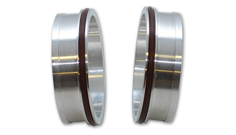 Vibrant Vanjen Aluminum Weld Fittings for 3.5in OD Tubing (for use with part #12567) - Sold In Pairs