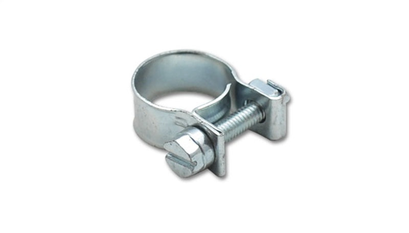 Vibrant Inj Style Mini Hose Clamps 10-12mm clamping range Pack of 10 Zinc Plated Mild Steel