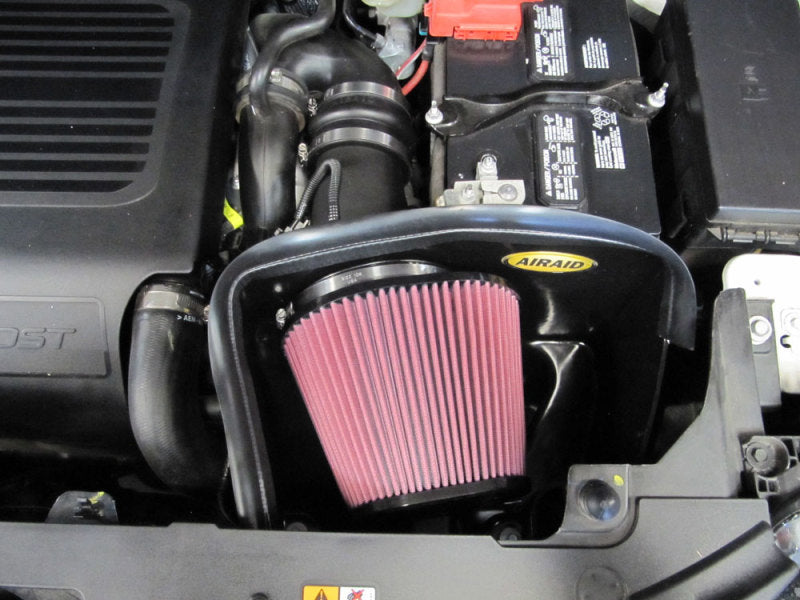 Airaid 2013 Ford Explorer 3.5L Ecoboost MXP Intake System w/ Tube (Dry / Red Media)