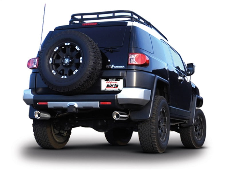 Borla 10-11 Toyota FJ Cruiser 4.0L 6cyl AT/MT SS Catback Exhaust