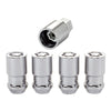 McGard Wheel Lock Nut Set - 4pk. (Cone Seat) 1/2-20 / 3/4 & 13/16 Dual Hex / 1.66in. Length - Chrome