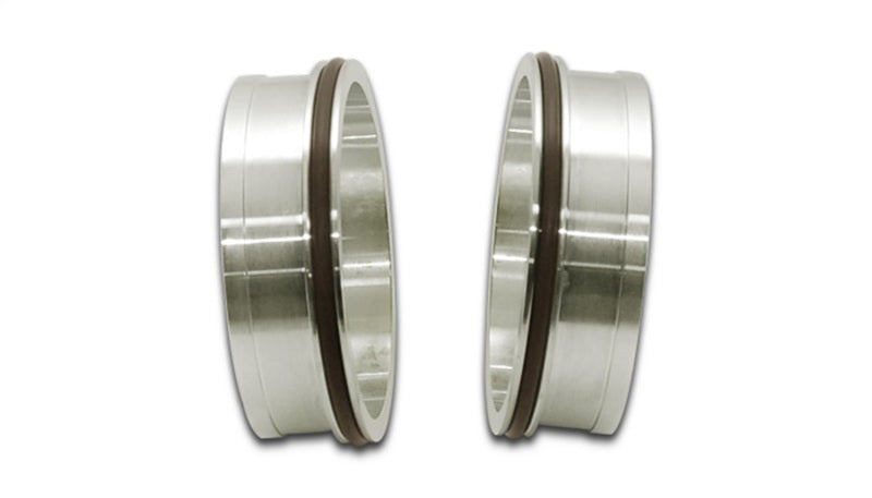 Vibrant Stainless Steel Weld Fitting w/ O-Rings for 2.5in OD Tubing