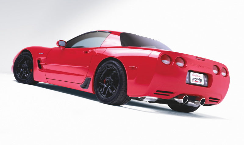 Borla 97-04 Chevrolet Corvette 5.7L 8cyl RWD Very Aggressive Catback Exhaust - Off-Road/Racing
