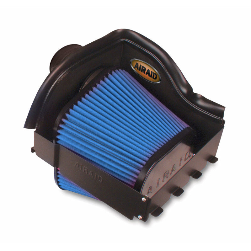 Airaid 11-14 Ford F-150 3.5/3.7L/5.0L /10-14 Raptor CAD Intake System w/ Tube (Dry / Blue Media)