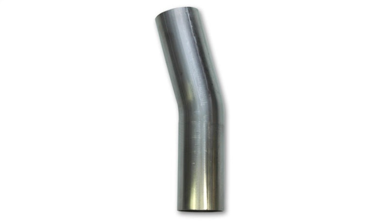 Vibrant 2in O.D. T304 SS 15 deg Mandrel Bend 4in x 4in leg lengths (2in Centerline Radius)
