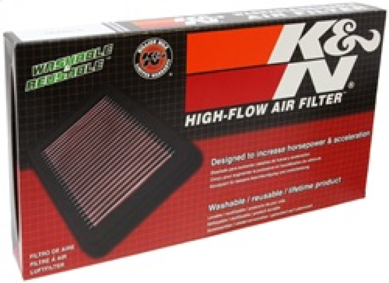 K&N 07 Hyundai Santa Fe 2.7L-V6 Drop In Air Filter