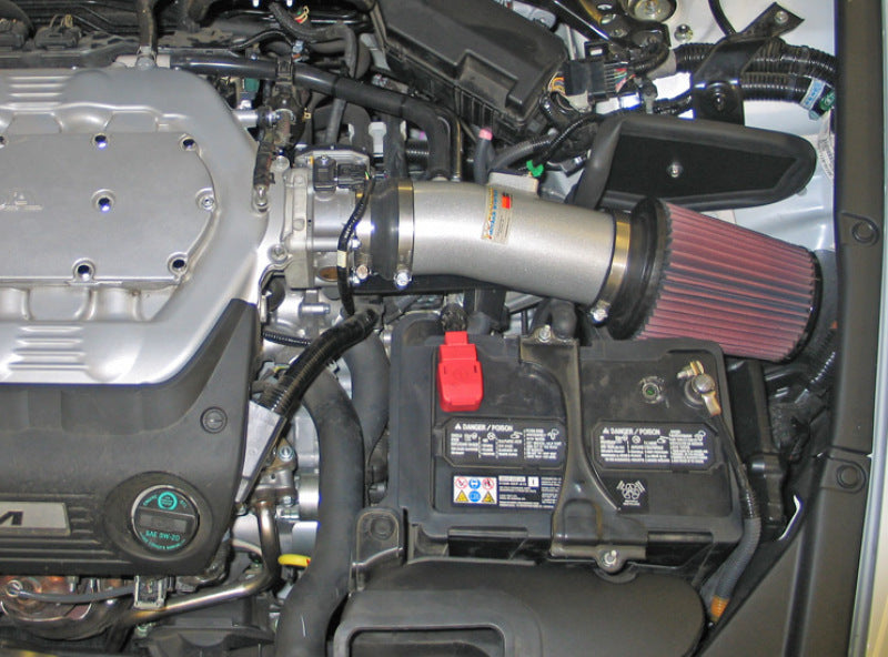 K&N 08 Honda Accord 3.5L-V6 Silver Typhoon Short Ram Intake