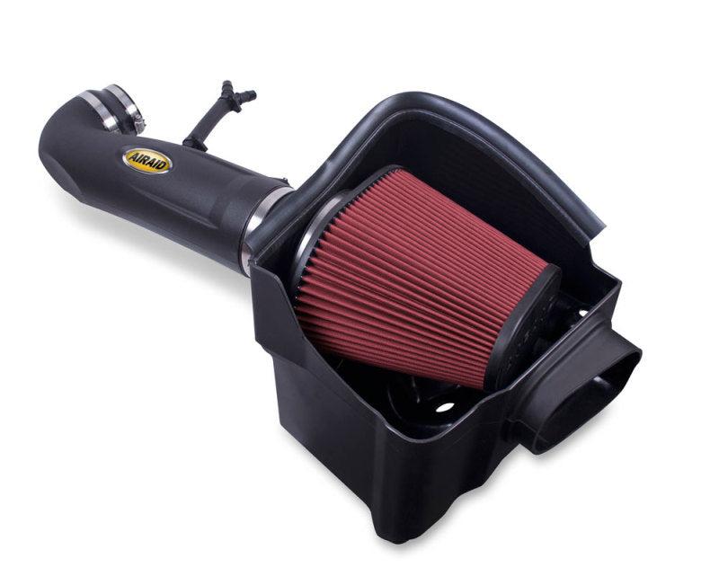 Airaid 04-13 Nissan Titan/Armada 5.6L MXP Intake System w/ Tube (Oiled / Red Media)