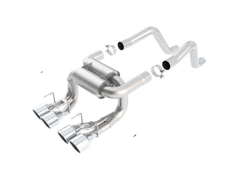 Borla 06-12 Chevrolet Corvette Z06/ZR1 6.2L/7.0L 8cyl Aggressive ATAK Exhaust (rear section only)