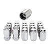 McGard 5 Lug Hex Install Kit (Clamshell) w/Locks (Cone Seat Nut) M12X1.5 / 13/16 Hex - Chrome
