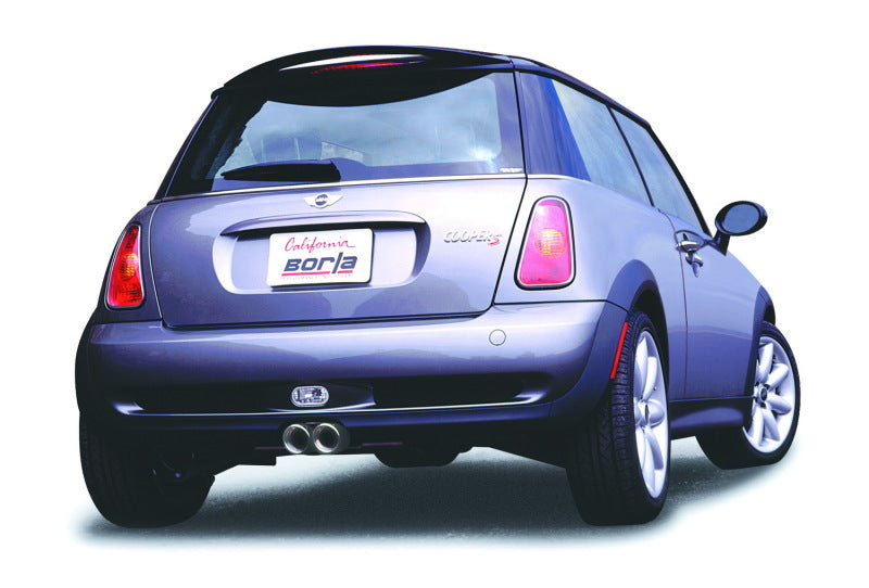 Borla 04-06 Mini Cooper S (Incl. Convertible) Aggressive Cat-back