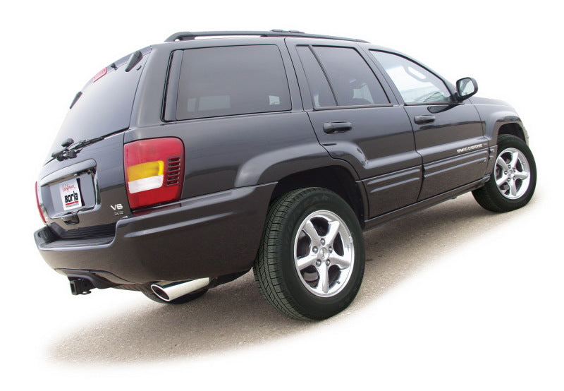 Borla 99-04 Jeep Grand Cherokee Limited/Laredo 4.0-4.7L / 02 Cherokee Sport 4.0L-4.7L Cat-Back Exhau