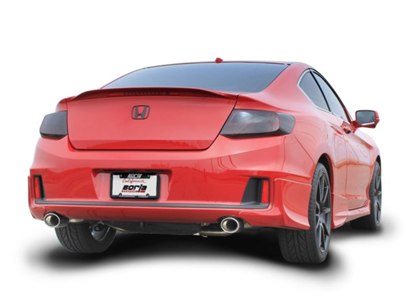 Borla 13-15 Honda Accord Coupe 3.5L FWD SS Rear Section Single Split Rear Exit Touring Exhaust
