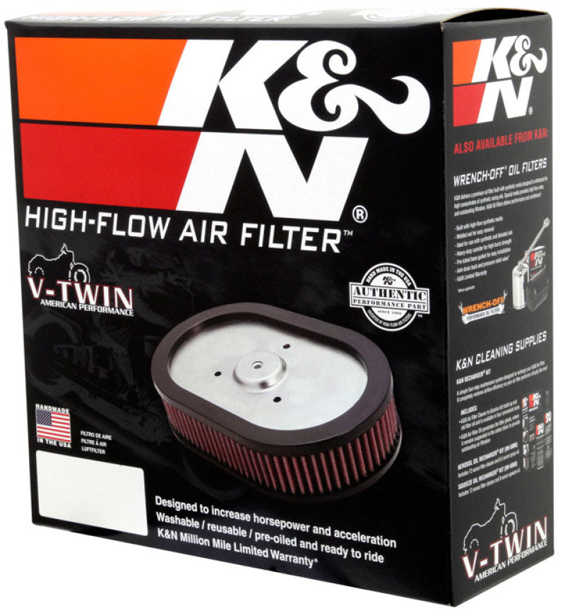 K&N 2014 Indian Chief Classic 111 CI Replacement Drop In Air Filter