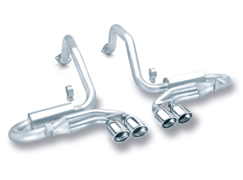 Borla 97-04 Corvette Coupe/Conv/Hatchback 5.7L 8cyl 4spd/6spd RWD Classic S-Typein Cat-Back Exhaust