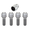 McGard Wheel Lock Bolt Set - 4pk. (Cone Seat) M14X1.5 / 17mm Hex / 29.0mm Shank Length - Chrome