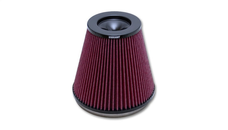 Vibrant The Classic Perf Air Filter 5in Cone OD x 7in Height x 7in Flange ID