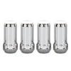 McGard SplineDrive Lug Nut (Cone Seat) M14X1.5 / 1.935in. Length (4-Pack) - Chrome (Req. Tool)