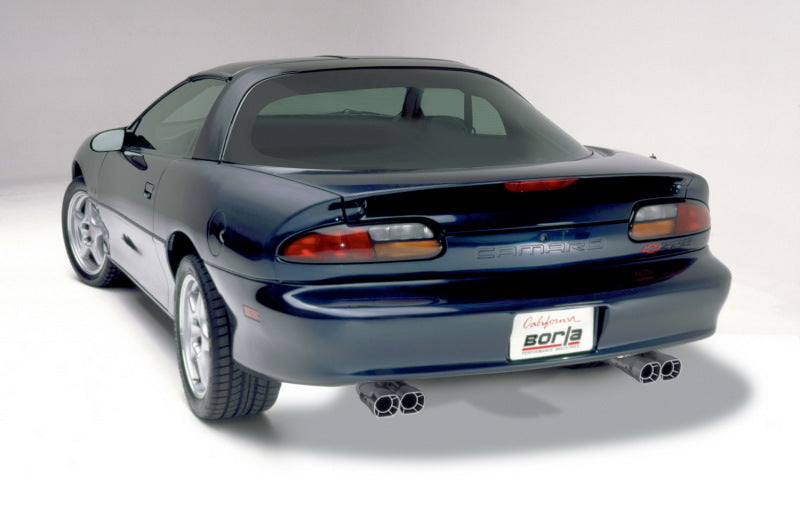 Borla 98-01 CAMARO/TRANS AM 5.7L V8 AT/MT Catback Exhaust Quad Tips