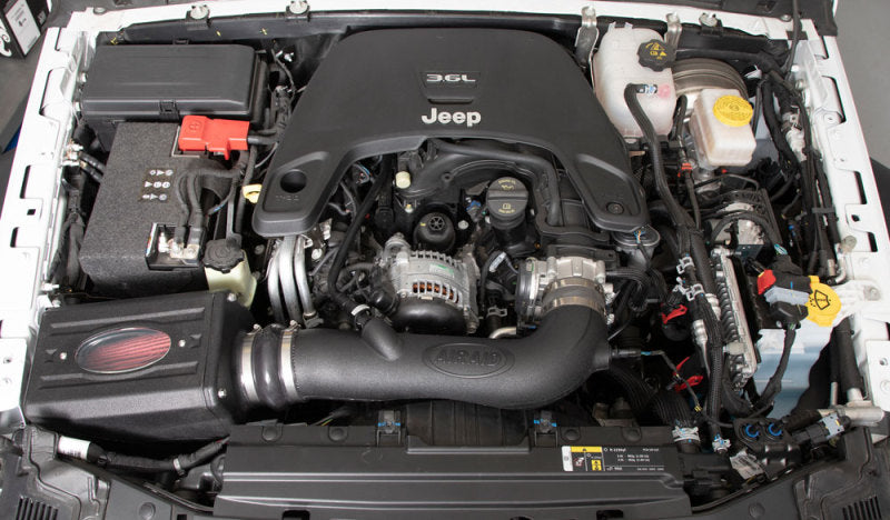 Airaid 2018 Jeep Wranger JL 3.6L V6 F/I MXP Intake System (Red Media)