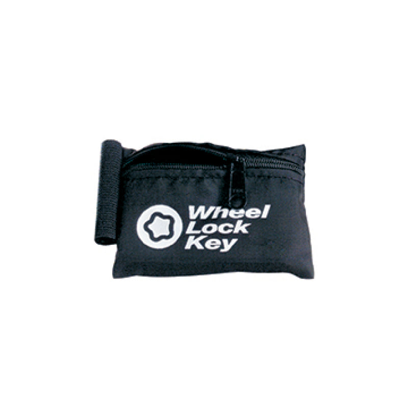McGard Wheel Key Lock Storage Pouch - Black