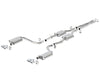 Borla 15-16 Dodge Challenger R/T 5.7L Dual Rectangle Angle Cut Dual Split Rear Exit ATAK Exhaust