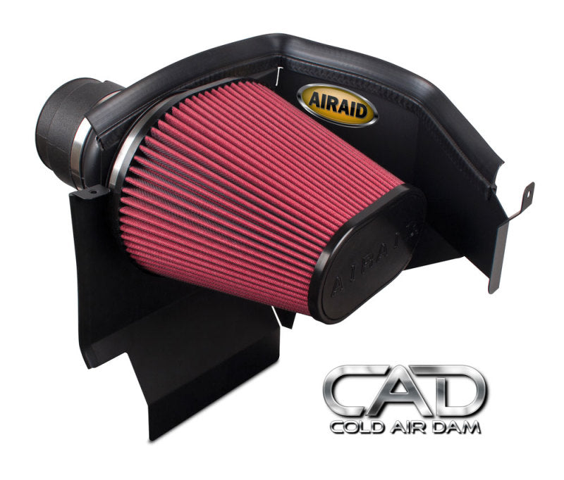 Airaid 11-13 Dodge Charger/Challenger 3.6/5.7/6.4L CAD Intake System w/o Tube (Dry / Red Media)