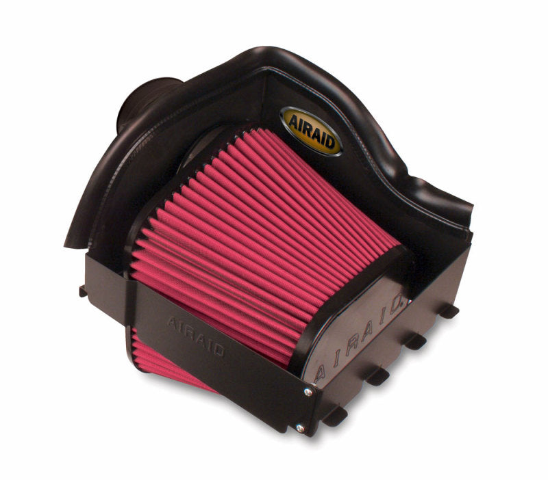 Airaid 11-14 Ford F-150 3.5/3.7L/5.0L /10-14 Raptor CAD Intake System w/ Tube (Dry / Red Media)