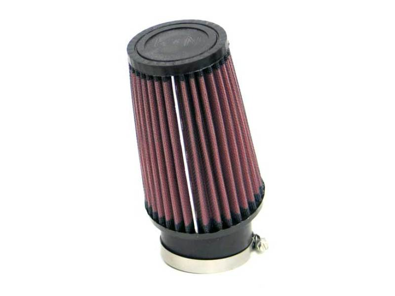 K&N Universal Custom Air Filter - Round Tapered 4in Base OD x 3in Top OD x 6in H x 2.75in Flange ID