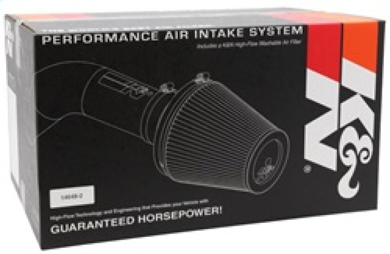 K&N 07 Jeep Wrangler V6-3.8L Performance Intake Kit