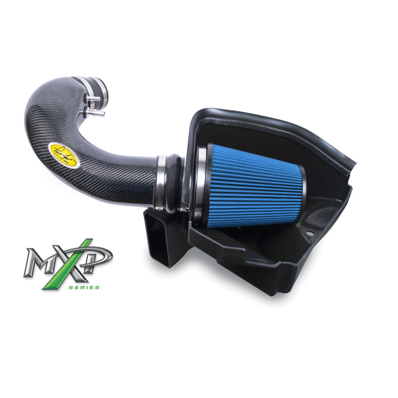 Airaid 11-14 Ford Mustang GT 5.0L MXP Intake System w/ Tube (Dry / Blue Media)