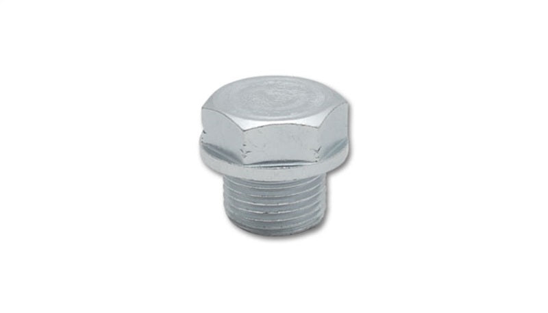 Vibrant Threaded Hex Bolt capping Oxygen Sens Bung Mild Steel M18x1.5 thread Retail Pack of 1 pcs.