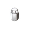 McGard Hex Lug Nut (Cone Seat) 1/2-20 / 13/16 Hex / 1.5in. Length (Box of 100) - Chrome