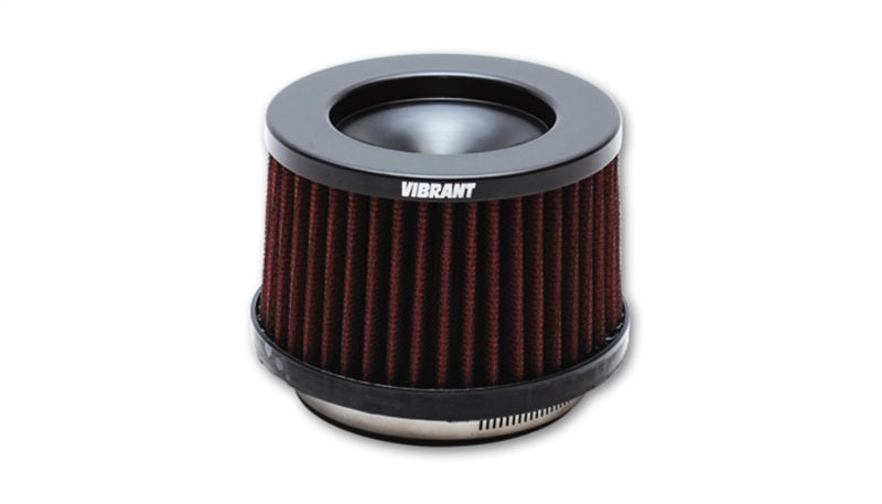Vibrant The Classic Perf Air Filter 4.75in O.D. Cone x 3-1/2in Tall x 3in inlet I.D. Turbo Outlets
