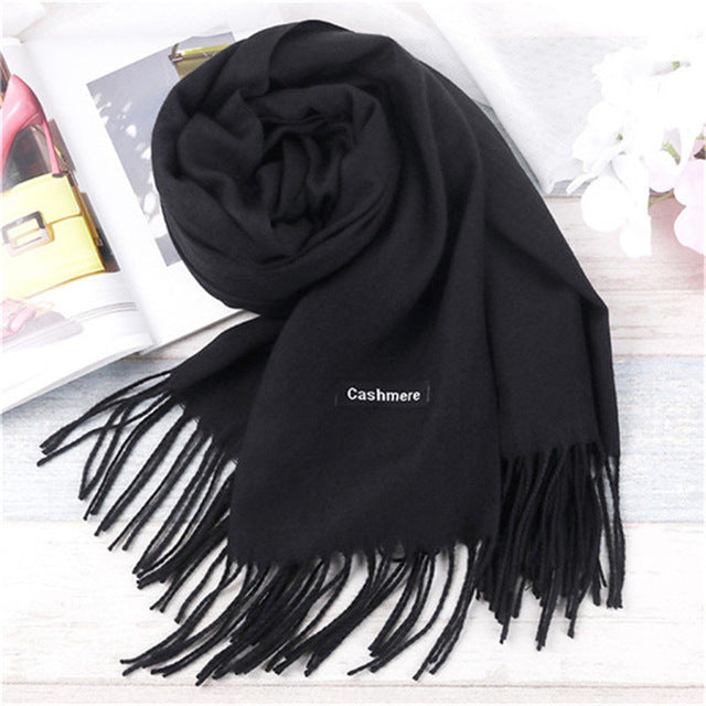 Male Best Quality Wool Cashmere Scarf