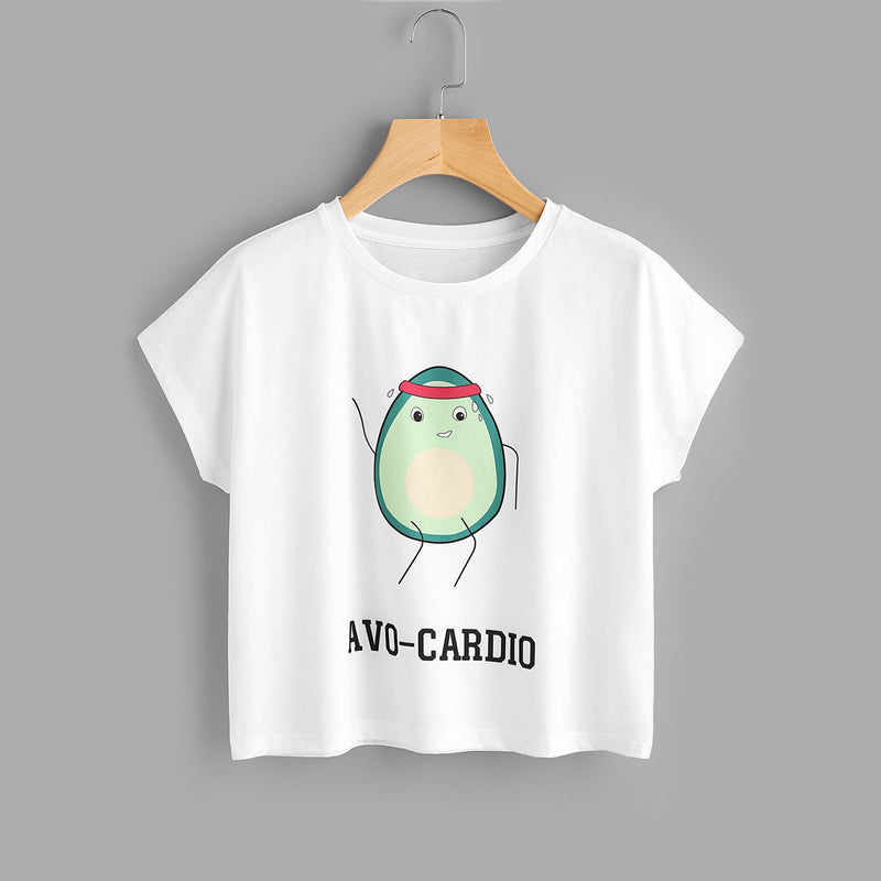 Avo-Cardio Tee & Short Set