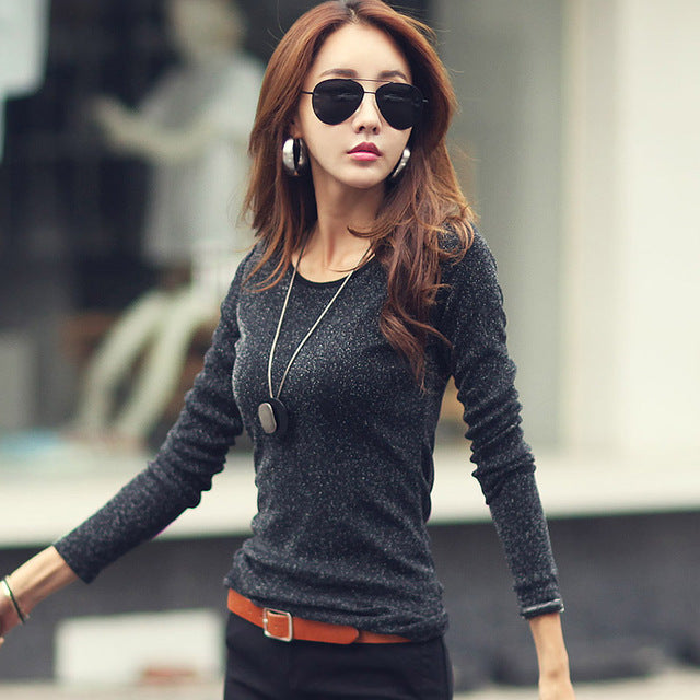 Slim Sparkle Sweater