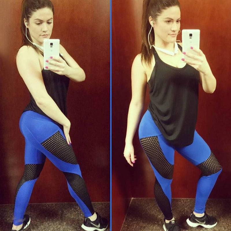 Breathable Perforated Leggings