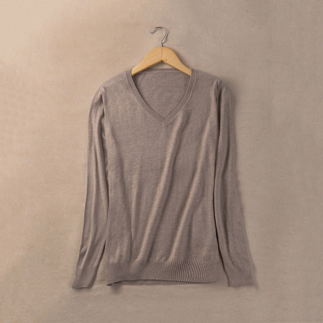 Gabby Light Cashmere Sweater