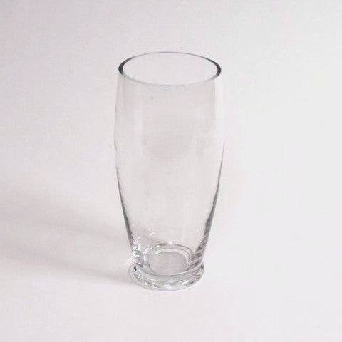 Clear glass-vase 25cm height