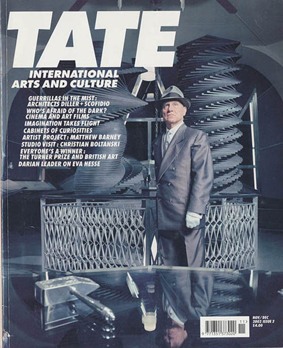 Tate Magazine (November/December 2002, issue 2), book cover