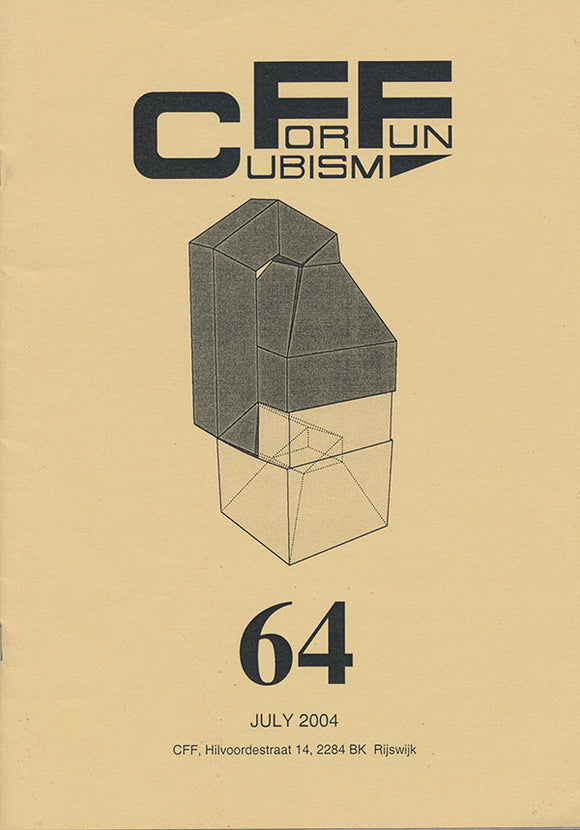 CFF 64 (Cubism for Fun). book cover