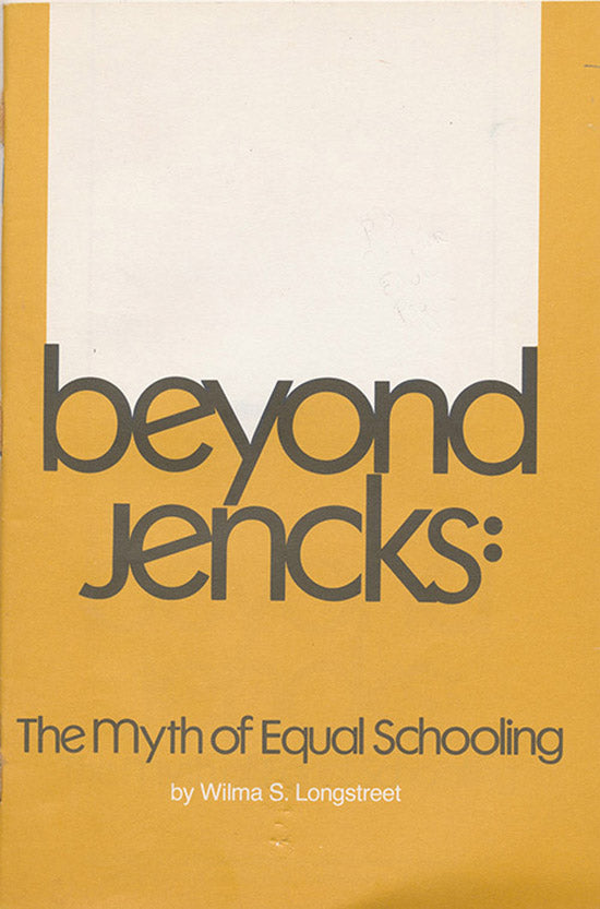 Beyond Jencks: The Myth of Equal Schooling, book cover