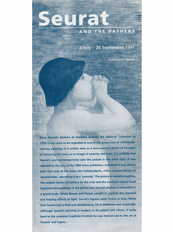 Seurat and the Bathers (Exhibition Brochure, The National Gallery, London, 1997)