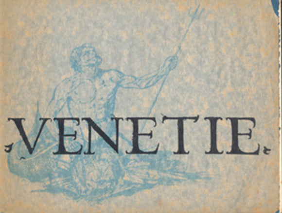 Venetie: An Exhibition of View of Venice, book cover