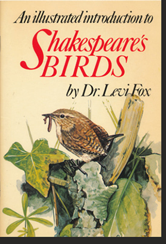 An Illustrated Introduction to Shakespeare's Birds, book cover