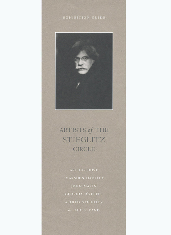 Artists of the Stieglitz Circle [Exhibition brochure] image